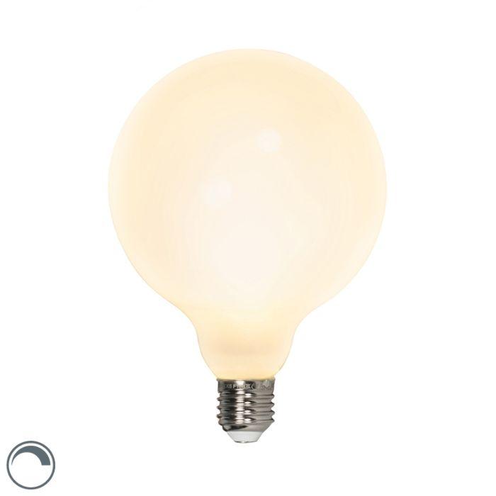 E27-pritemdoma-LED-G125-gaubtinė-lempa-8W-900lm-2700-K.