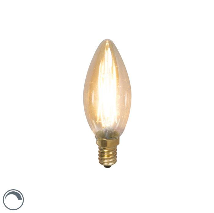 LED-kaitinamoji-žvakių-lempa-E14-240V-3,5-W-200lm-pritemdoma