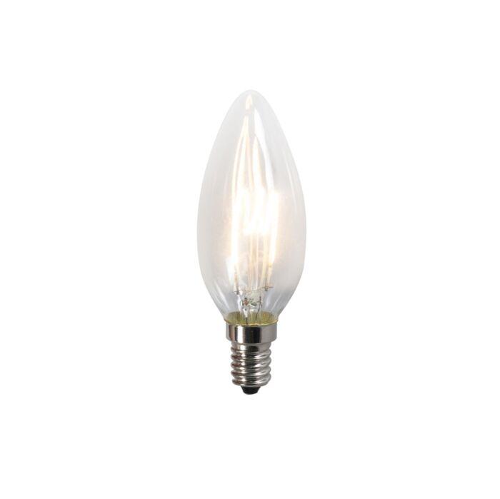 Susukta-kaitinamoji-LED-lempa-C35-2W-2200K-skaidri