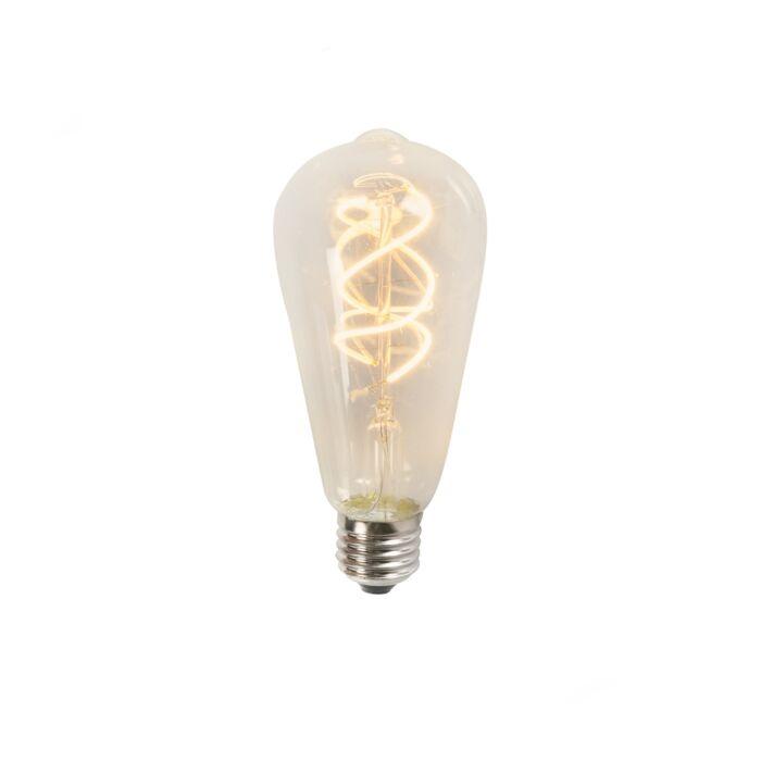 Susukta-LED-gija-ST64-5W-2200K-skaidri