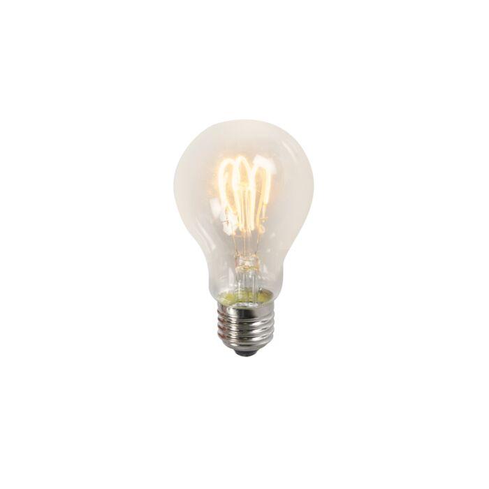Susukta-kaitinamoji-LED-lempa-A60-3W-2200K-skaidri