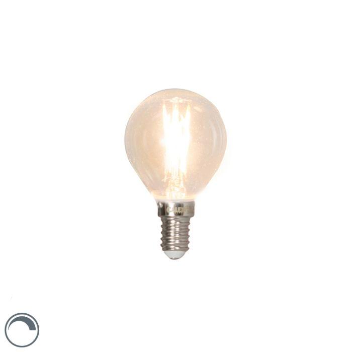 E14-pritemdoma-LED-kaitinamoji-rutulinė-lempa-3W-350lm-2700K