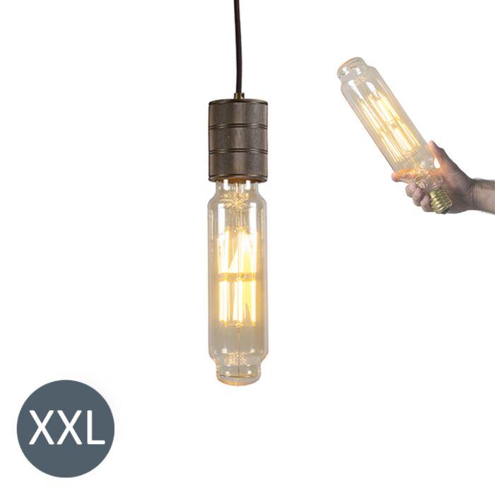 Pakabinama-lempa-Bokšto-bronza-su-reguliuojama-LED-lempa