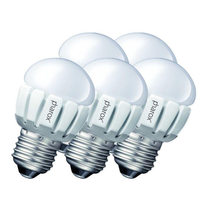 5-Pharox-LED-200-P45-E27-5W-230V-rinkinys