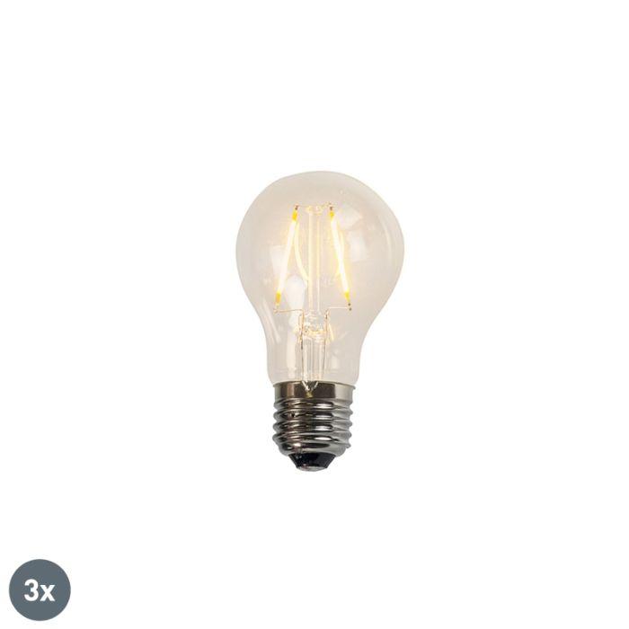 3-kaitinamųjų-LED-lempų-rinkinys-A60-2W-2200K-skaidrus