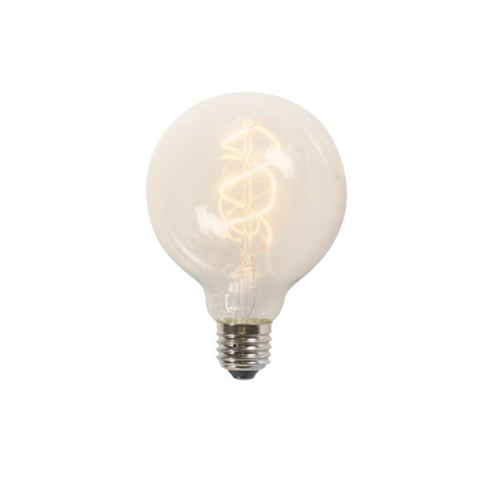 Susukta-kaitinamoji-LED-lempa-G95-5W-2200K-skaidri