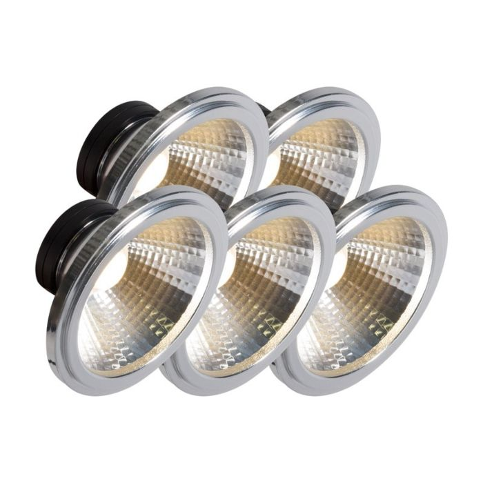 AR111-LED-lempa-COB-7W-24-°-rinkinys-iš-5