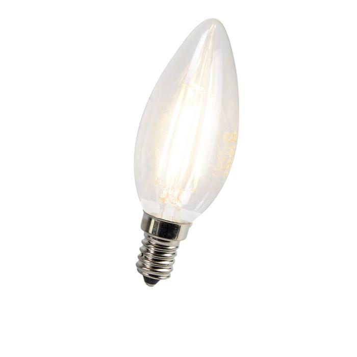 LED-kaitinamoji-žvakių-lempa-E14-3W-300-liumenų