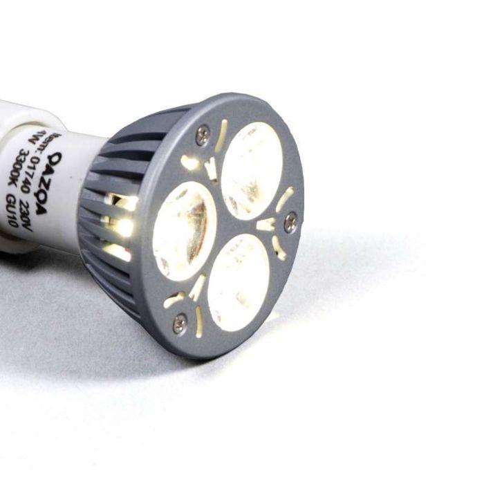 Didelės-galios-GU10-LED---3,5-W-=-35-W-šviesos-galia-balta-3300K
