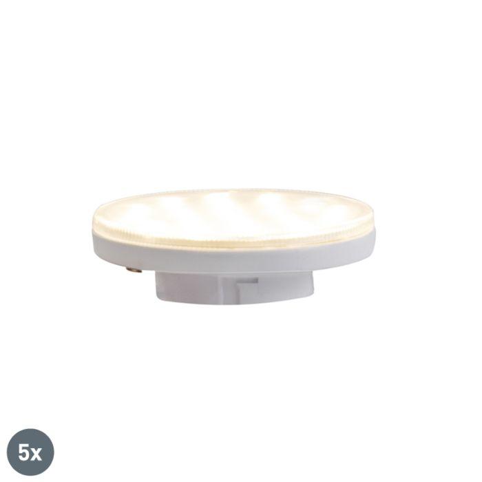 5-GX53-3-pakopų-pritemdomų-LED-lempų-rinkinys-3W-350-lm-3000K