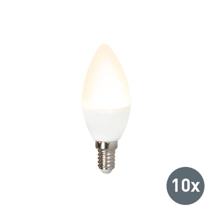 10-LED-lempučių-rinkinys-C37-E14-3W-3000K