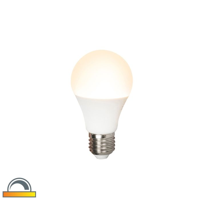LED-lempa-E27-240V-7W-510lm-A60-pritemdoma
