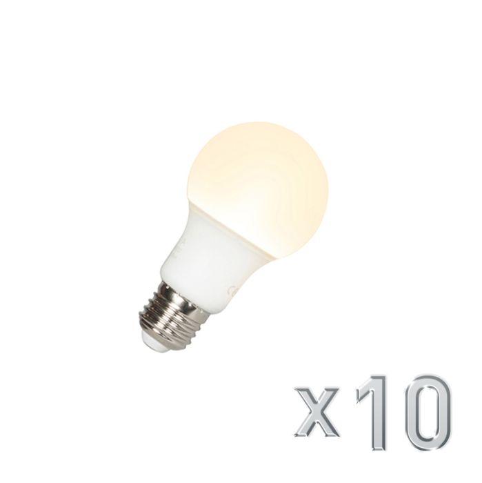 10-LED-lempučių-komplektas-A60-E27-9W-3000K