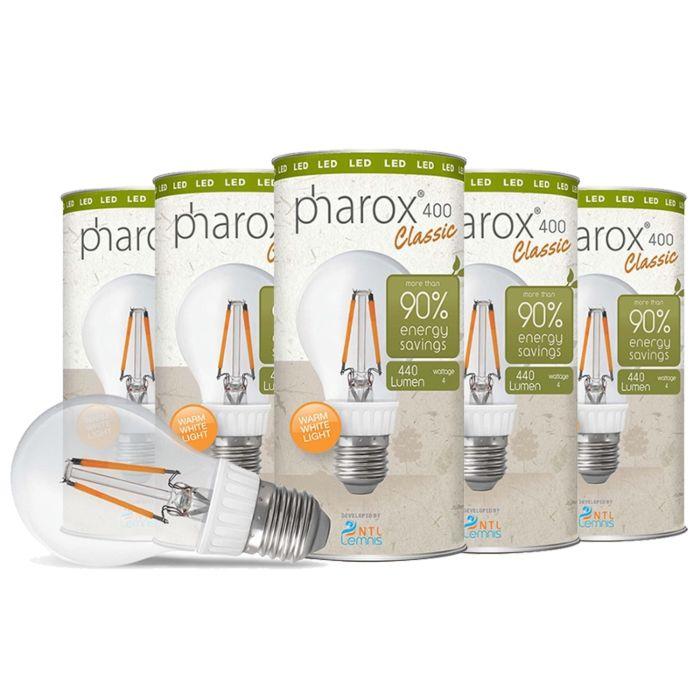 """""""Pharox""""-LED-lempa-400-Classic-E27-4W,-5-komplektai"""