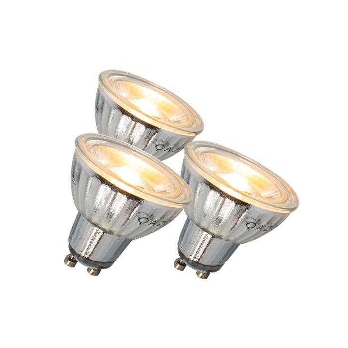 GU10-LED-lempa-7W-500LM-3000K-reguliuojamas-3-rinkinys