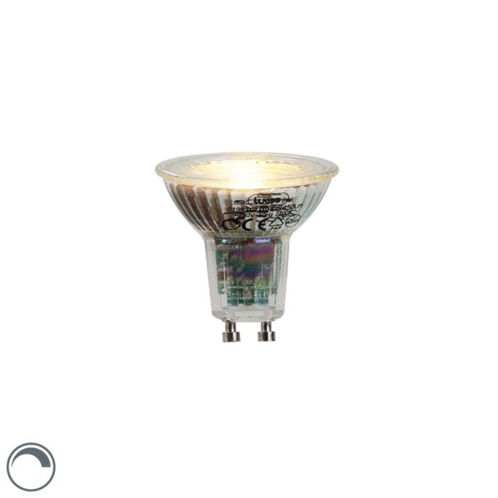 LED-lemputė-GU10-6W-450-liumenų-2700K-pritemdoma