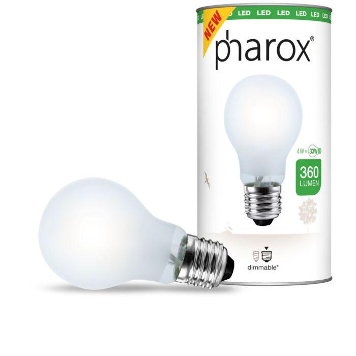 """""""Pharox""""-LED-lempa-matinė-E27-4W-360-liumenų"""