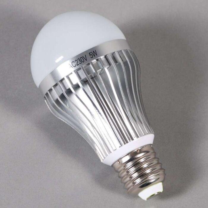 LED-kaitinamoji-lemputė-E27---5W-=-45W-šviesa