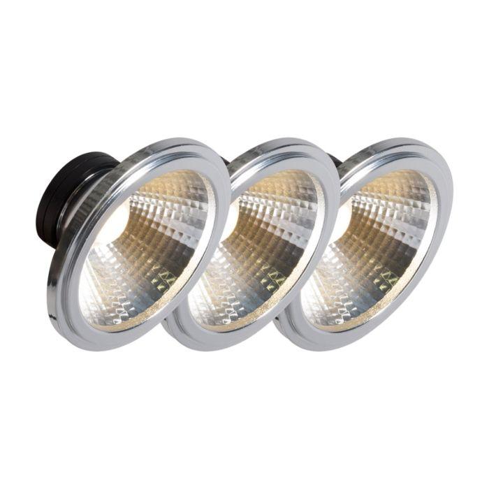 AR111-LED-lempa-COB-7W-24-°-rinkinys-iš-3