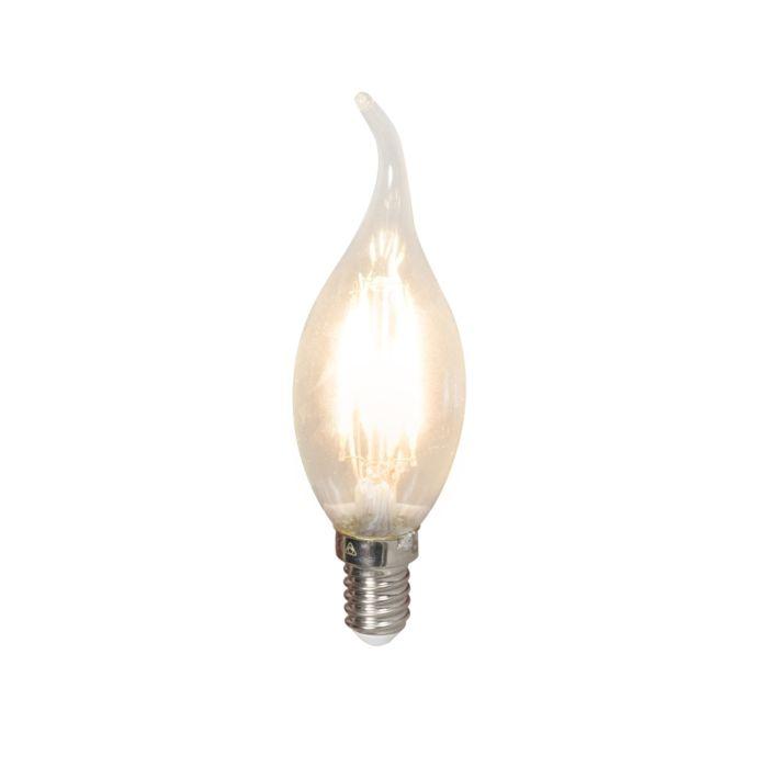 LED-kaitinamųjų-žvakių-lempa-E14-240V-3,5-W-350lm-BXS35-pritemdoma
