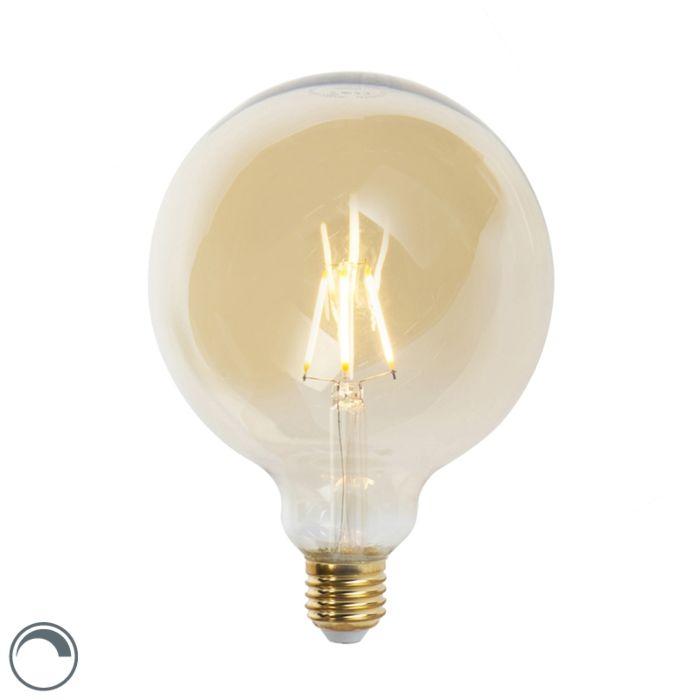 E27-pritemdoma-LED-kaitinamoji-lempa-G125-goldline-360-liumenų-2200K
