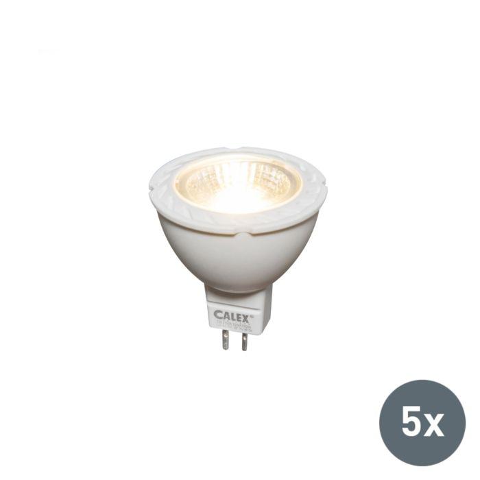 5-LED-lempos-MR16-7W-550-liumenų-rinkinys