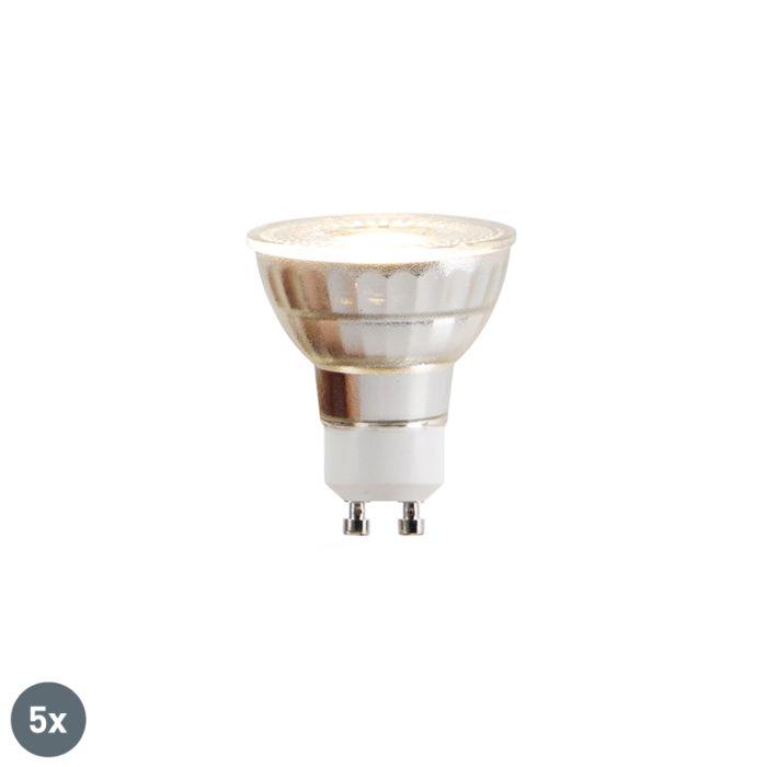 5-GU10-LED-lempučių-rinkinys-COB-5W-380lm-2700K