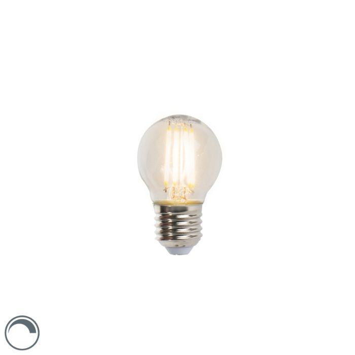 LED-kaitinamoji-rutulinė-lempa-E27-5W-470lm-P45-pritemdoma