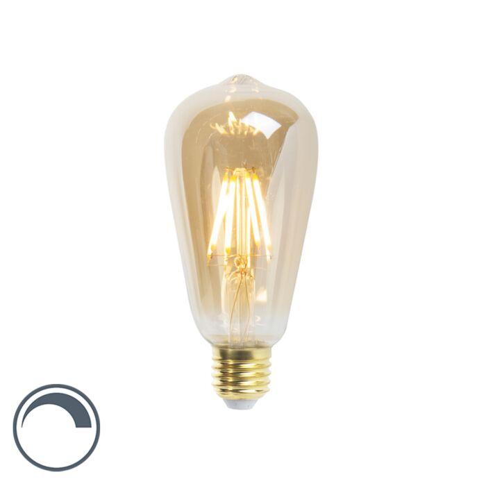 LED-kaitinamoji-lempa-ST64-E27-5W-360-liumenų-2200K-pritemdoma