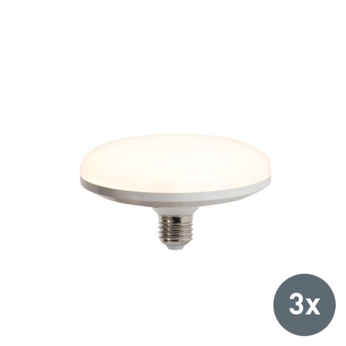 3-LED-lempučių-rinkinys-UFO-E27-18W-šiltai-baltas