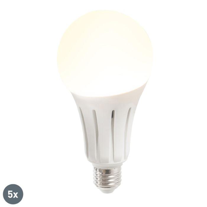 5-LED-lempučių-rinkinys-B80-24W-E27-šiltai-baltas