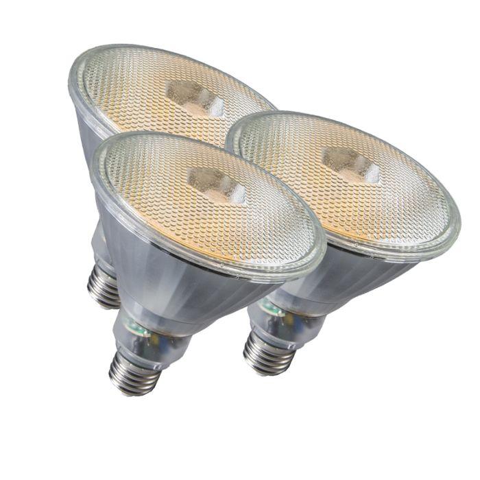 3-lempučių-Par38-E27-20W-800LM-2700K-rinkinys