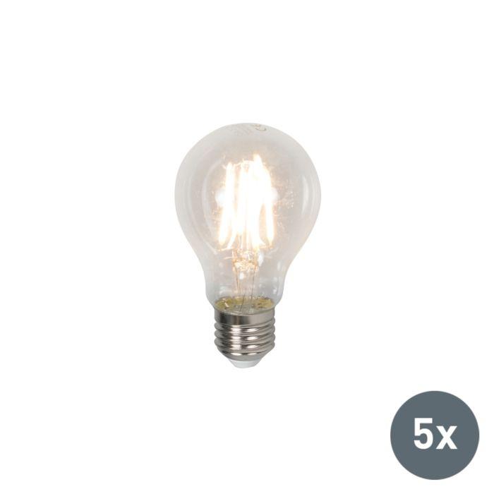5-LED-lempučių-rinkinys-E27-4W-400-liumenų-šilta-balta