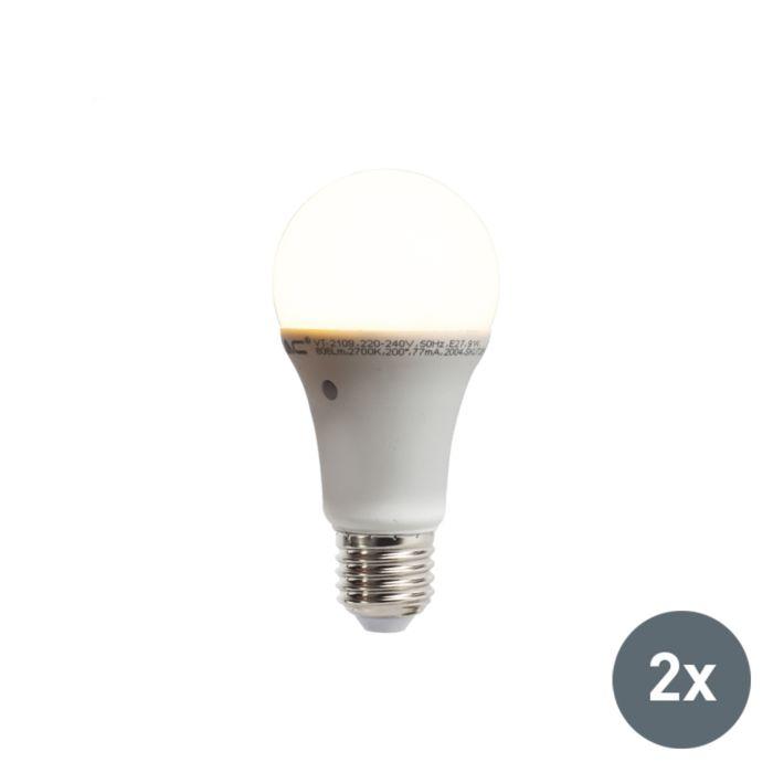 2-LED-lempučių-rinkinys-su-įmontuotu-šviesos-tamsos-jutikliu-E27-9W-806-liumenų-šilta-balta-2700K