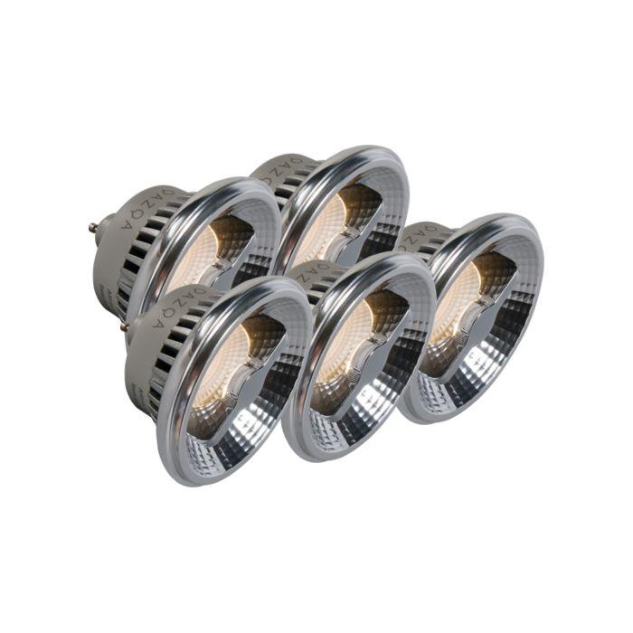 5-GU10-AR111-LED-lempos-rinkinys,-pritemdomas
