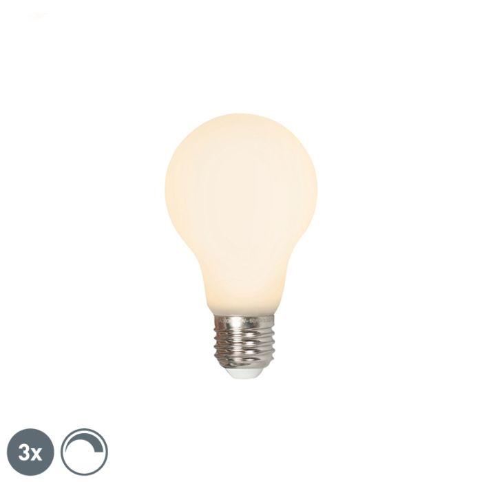 3-šviesos-diodų-E27-240V-4W-380lm-pritemdomas-rinkinys