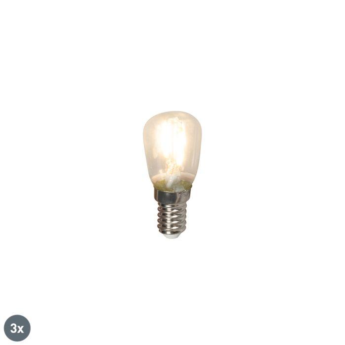 3-E14-LED-kaitinamųjų-skirstomųjų-skydų-lempučių-rinkinys-T26-1W-100lm-2700-K.