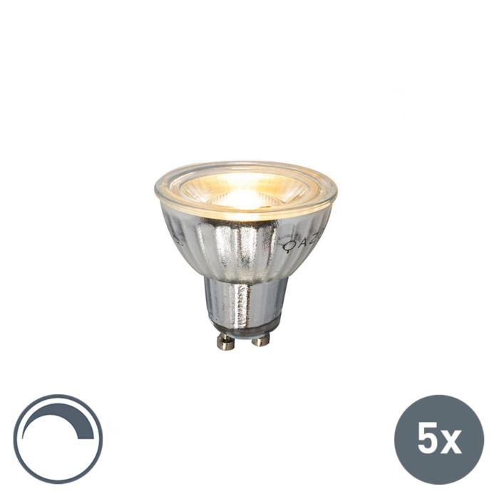 5-GU10-LED-lempų-rinkinys,-230V-5W-380LM-2700K,-pritemdomas