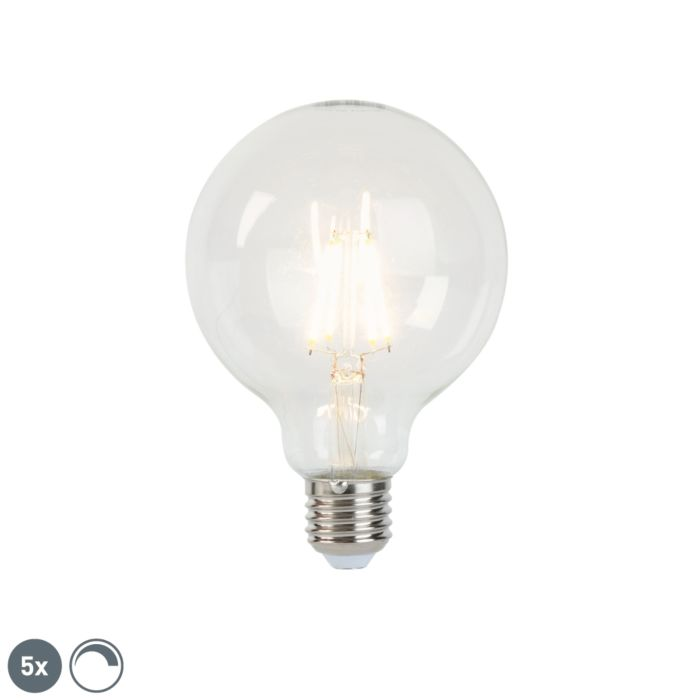 5-reguliuojamų-E27-LED-kaitinamųjų-lempų-rinkinys-G95-5W-470-lm-2700K