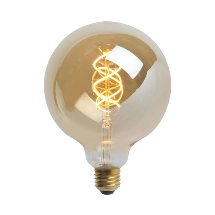 LED-kaitinamoji-gaubtinė-lempa-E27-5W-300-liumenų-šilta-balta-2200K
