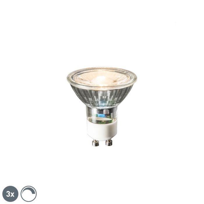 3-LED-lempučių-GU10-6W-450-liumenų-2700K-pritemdomas-rinkinys