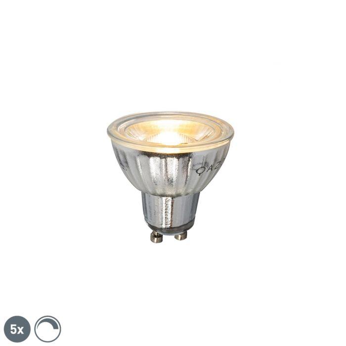 5-GU10-reguliuojama-LED-lempa-7W-500LM-2700K