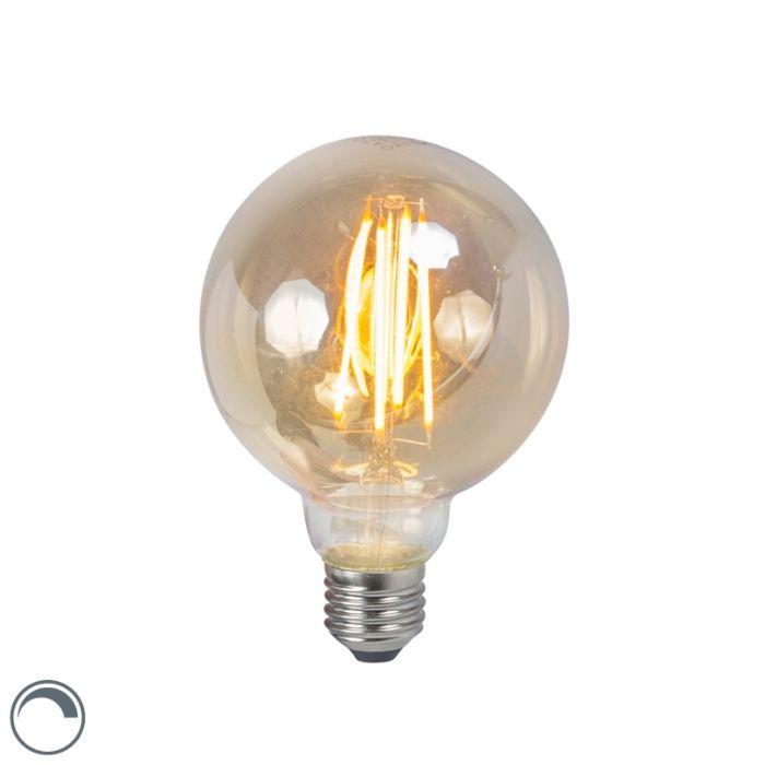 LED-kaitinamoji-lempa-E27-5W-2200K-G95-pritemdoma