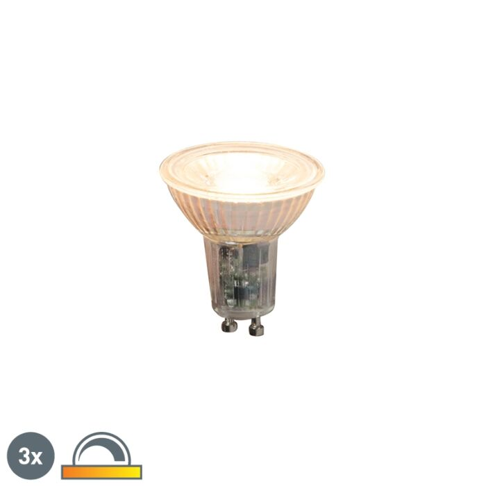 3-GU10-reguliuojamų-lempučių-rinkinys-5.5W-360lm-2000K---2700K