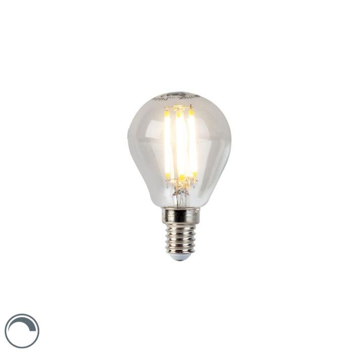 LED-kaitinamoji-rutulinė-lempa-E14-5W-470lm-P45-pritemdoma