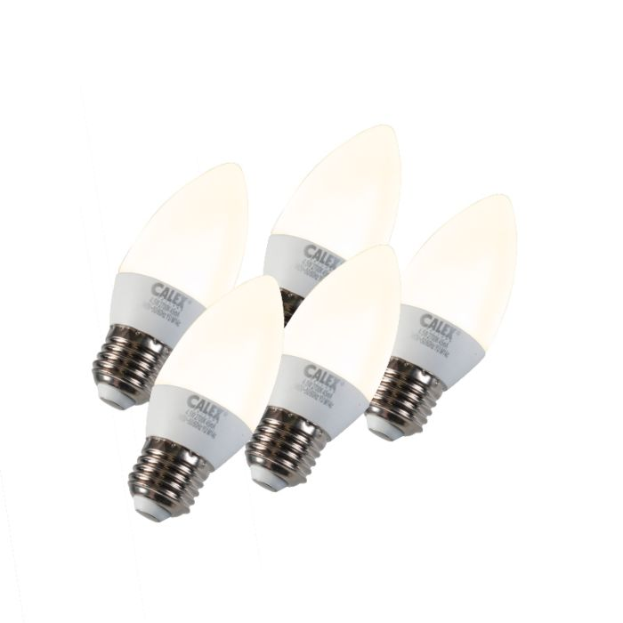 5-žvakių-žibintų-rinkinys-LED-E27-5W-240V-2700K-pritemdomas
