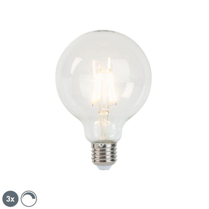 3-reguliuojamų-E27-LED-kaitinamųjų-lempų-rinkinys-G95-5W-470-lm-2700K