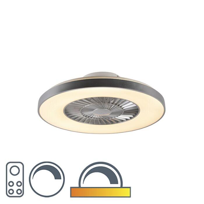 """Sidabrinis-lubinis-ventiliatorius-su-žvaigždės-efektu---""""Climo"""""""