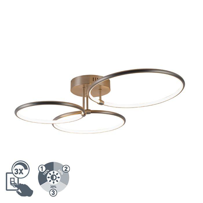Dizaino-lubinis-šviestuvas-iš-plieno-su-LED-3-pakopų-pritemdoma-3-lempučių---Joaniqa