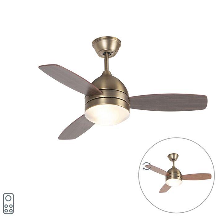 """Lubinių-ventiliatorių-bronza-su-nuotolinio-valdymo-pultu---""""Rotar"""""""